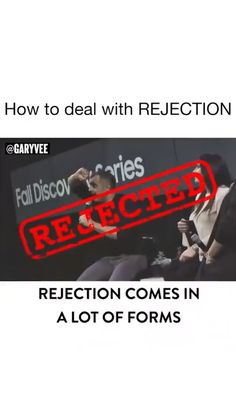 I'm really curious, how do you deal with rejection? Is it a struggle? Have you gotten better at it? - - Tag someone who you admire Gary Vaynerchuk, Gary Vee, Mental Strength, Entrepreneur Quotes, Get Well, Business, Wellness, Marketing, Business School