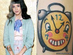 melanie-martinez-clock-tattoo