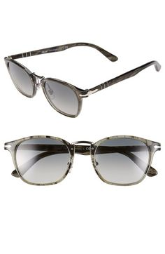 02accfba66633a Persol 51mm Sunglasses available at  Nordstrom Lunettes Hommes, Mode Homme,  Mode Élégante,