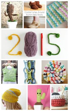 Let's say hello to 2015! Especially when it comes to yarn, hooks, and crochet projects!