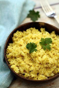 Risotto de chou-fleur au curry