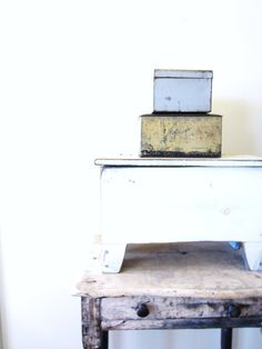 Vintage Industrial Metal Storage Box and Ephemera Lot  Ask a Question $12.00 USD. USA