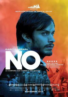 NO: Pablo Larrain's film, 2012: movie poster