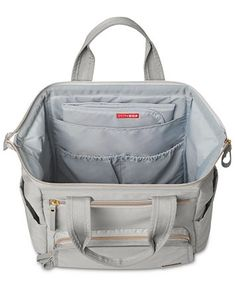 Skip Hop Mainframe Wide Open Diaper Backpack & Reviews - All Kids' Accessories - Kids - Macy's Best Backpack Diaper Bag, Chic Diaper Bag, Baby Diaper Bags, Backpack Straps, Buy Backpack, Baby Bags, Fashionable Diaper Bags, Cute Luggage, Backpack Reviews