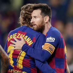 Fc Barcelona, Antoine Griezmann, Lionel Messi, Ronaldo, Club, Soccer, Football, Couple Photos, Sports
