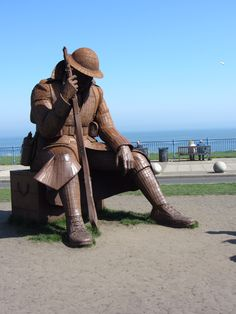 'Tommy' Seaham, County Durham. UK North Shields, War Memorials, Coal Mining, British Isles, Durham, Monuments, Family History, Statues, Childhood Memories