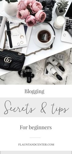 Tiffany Jais Houston fashion and lifestyle blogger | Gucci marmot bag, pearl slides, flatlay, vsco, How to start a blog, blogging tips, how to go full time blogging