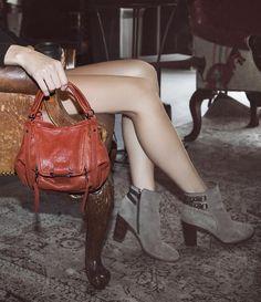 557d5a6f49 Mini Jonnie - rust. Kooba handbags