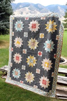 Moon Blossoms Quilt 3
