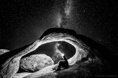 Galactic Exploration by Michael Shainblum on 500px............. thk::::::::::::::::::::::Majestic Mobius Arch located in the Alabama Hills, Lone Pine California.