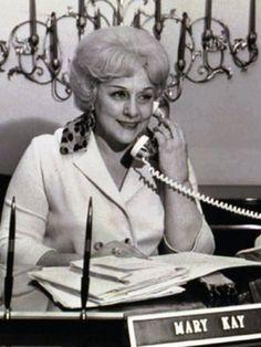 Workwear: Mary Kay Cosmetics founder Mary Kay Ash, 1969