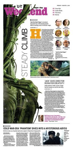 steady climb #Newspaper #GraphicDesign #Layout
