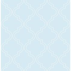 Nu Wallpaper Quatrefoil Wallpaper, B