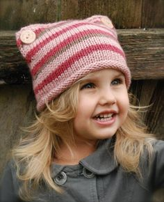 Lyllie Hat Knitting pattern by The Velvet Acorn, a beautiful hat pattern for children! Find this pattern at LoveKnitting.Com.