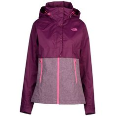 The North Face Jacket (245 NZD) ❤ liked on Polyvore featuring dark purple and the north face