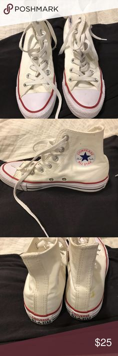 0b3ef9696bcf Converse All Star High Top Converse high top. Men size 4 and women size 6