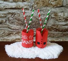 Santa's Waistcoat Milk Bottle Wrap......... SVG & MTC........ Commercial Used Allowed by CraftaholicCreation on Etsy