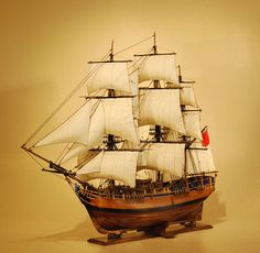 Ship Models | HMS Bounty Model Ship | Mutiny On The Bounty Scale Replica