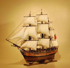 Ship Models | HMS Bounty Model Ship | Mutiny On The Bounty Scale Replica