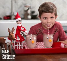 Reindeer Chocolate Milk