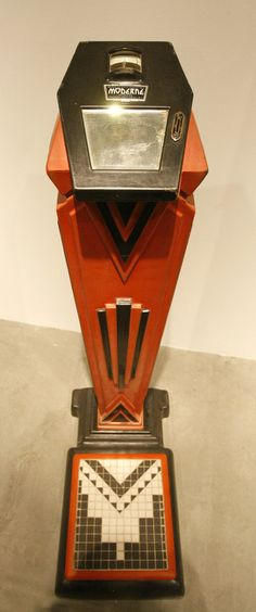 Art Deco Penny Scales c.1890 Belonging to the Christopher K. Steele collection...