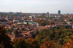 Autumn Colours of Vilnius city - so beautiful
