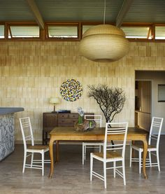 Contemporary Dining Room in San Diego, CA by Ike Kligerman Barkley