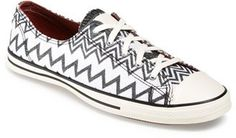 Converse x Missoni Chuck Taylor® All Star® 'Fancy' Ox Sneaker (Women)