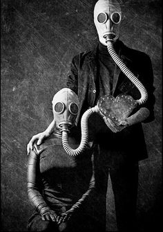 Gas Mask Love....