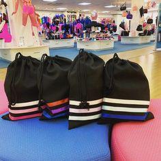 Little Ballerina Character Shoe Bag Dance Bags, Little Ballerina, Blue Ribbon, Dance Wear, Character Shoes, Dancing, Range, Shoe Bag, Studio