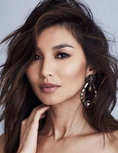 Gemma Chan lands the March 2019 cover story from Modern Luxury. Captured by Lara Jade (Atelier Management), the 'Captain Marvel' star wears elegant ensembles. Gemma Chan, Lara Jade, Celebrity Faces, Interesting Faces, Cool Haircuts, Woman Crush, Modern Luxury, Wedding Makeup, Makeup Inspiration