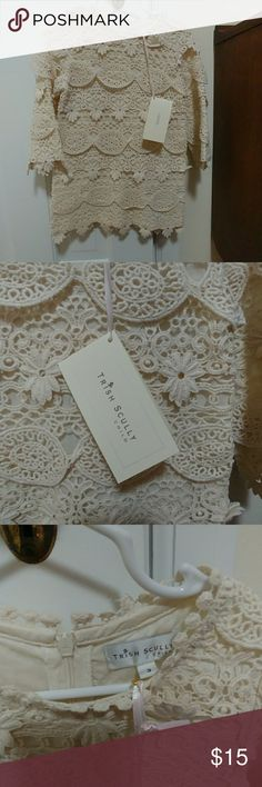 Trish Scully Child Cream Lace Dress NWT NWT Trish Scully cream lace dress. & Other Stories Dresses Formal