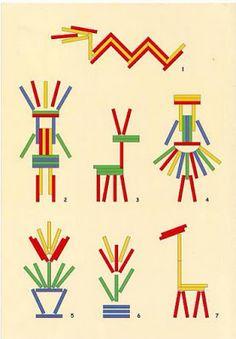 Creciendo con libros y juegos: HOY JUGAMOS CON PALOS DE POLO