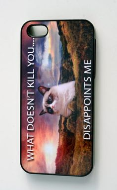 Grumpy Cat - phone case - A Cover suitable for Apple iPhone 4 / 4s / 5 / 5s / 6