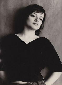 photo noir et blanc : Nina Hagen, musicienne allemande, 1975, portrait de femme