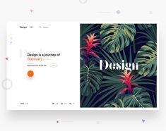 15 Web Design Trends in 2018 Bonus) – Muzli -Design Inspiration Web Design Trends, Design Ios, Interface Design, Graphic Design, Dashboard Design, Blog Design, User Interface, Wireframe, Web Layout