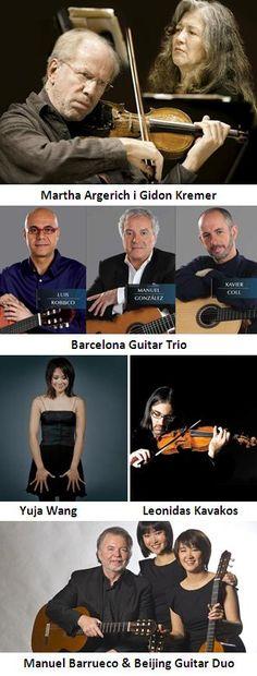 Concerts de la segona quinzena d'octubre al Palau de la Música Catalana (Barcelona). De l'16 al 31 d'octubre 2014