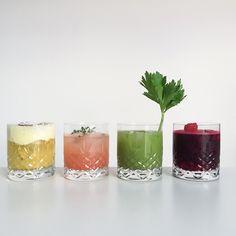 Regnbuedrinks: Skift sodavanden ud med hjemmelavet juice