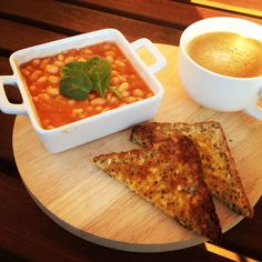 Beans beans the musical fruit... Day 2 #12wbt Breakfast of Baked Beans with Toast & Baby Spinach