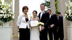 Childhood sweethearts, Rob & Krestina Alihodzic, married at Curzon Hall.