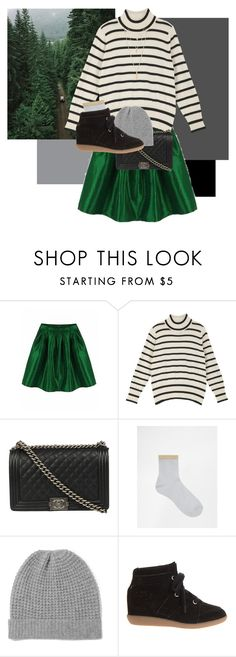 """deep down in the woods"" by merlemarienielsen ❤ liked on Polyvore featuring Chanel, ASOS, Madeleine Thompson, Étoile Isabel Marant and Forever 21"