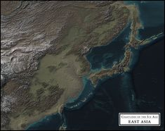 Coastlines of the Ice Age - East Asia