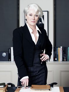 "Workwear: Meryl Streep as an editrix in ""The Devil Wears Prada,"" 2006"
