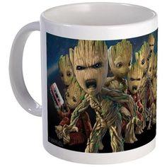 "Choose between three styles:Standard Coffee Mug & Black Magic Mug (3.75""x3"", 11 oz capacity); Mega Coffee Mug (4.5""x3.75"", 20 oz capacity)Durable ceramic with easy gri"