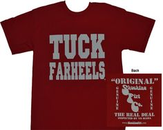 d466ccfcf3d NC State Tuck Farheels T-shirts  19.99 Free Shipping NC STATE - college  apparel - Tuck Farheels (Red) - Spring Apparel