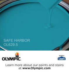 SAFE HARBOR OL629.5 is a part of the aquas collection by Olympic® Paint.