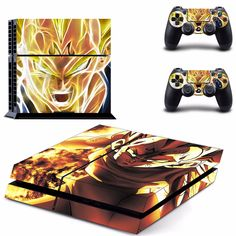 Dragon Ball Z  Decal Skin for Play station 4 //Price: $16.99 & FREE Shipping //   #pokemon #anime