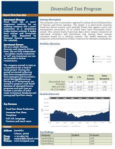 Fund Fact Sheet Template 1