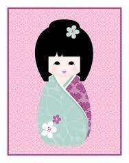 Resultado de imagem para kokeshi patchwork patrones