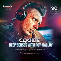 Roy Malloy & COOKie - Deep Senses 090 on Insomniafm - November 2020 Dance Music, November, Cookie, Passion, Deep, November Born, Biscuit, Ballroom Dance Music, Pretzel Bark